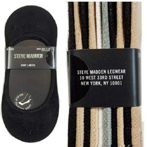Steve Madden Women's Foot Liners 10 Pairs